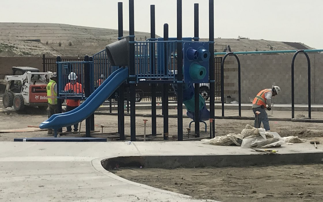 View of Play Structure