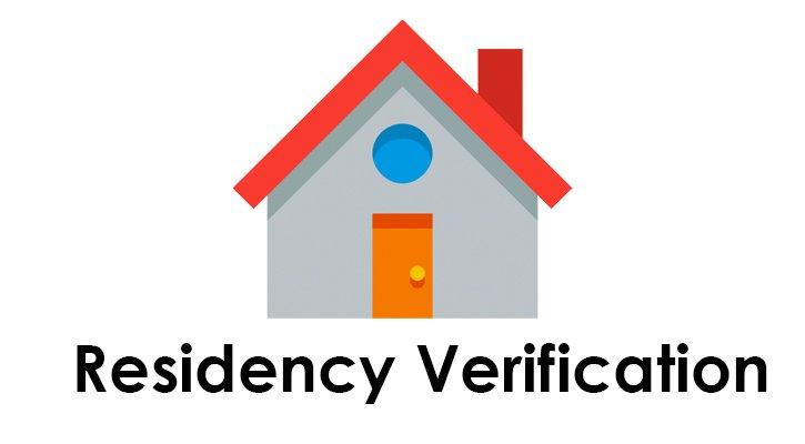 Residency Verification
